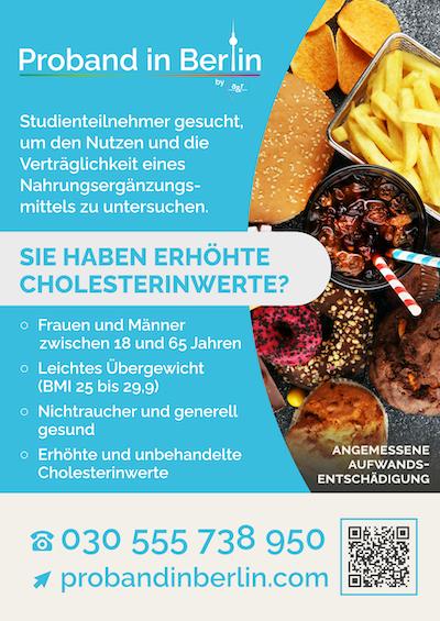 Poster Cholesterinstudie